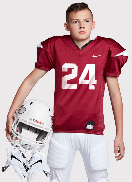 ddc4f538ab6 Youth Nike Stock Vapor Pro Football Uniform