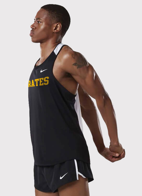 40217d26b00 Men s Nike Stock Breathe Race Day Running Singlet with the Nike Dry 2 inch  Core Short